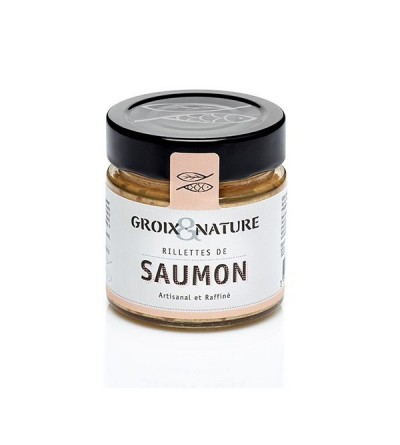 Rillettes de saumon Groix & Nature
